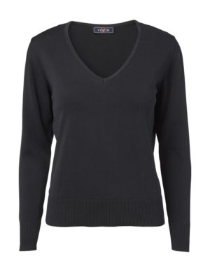 Clipper women's v-neck Black