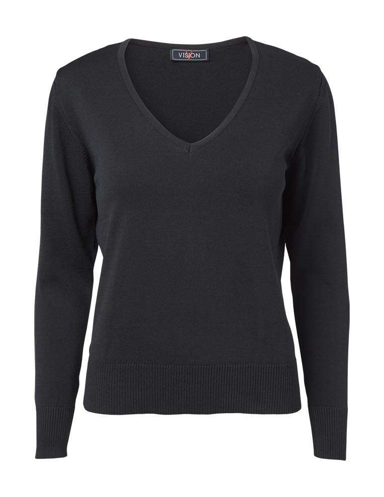 Clipper women's v-neck Black