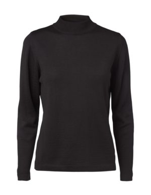 Clipper women's Turtle L.Sleeve Black