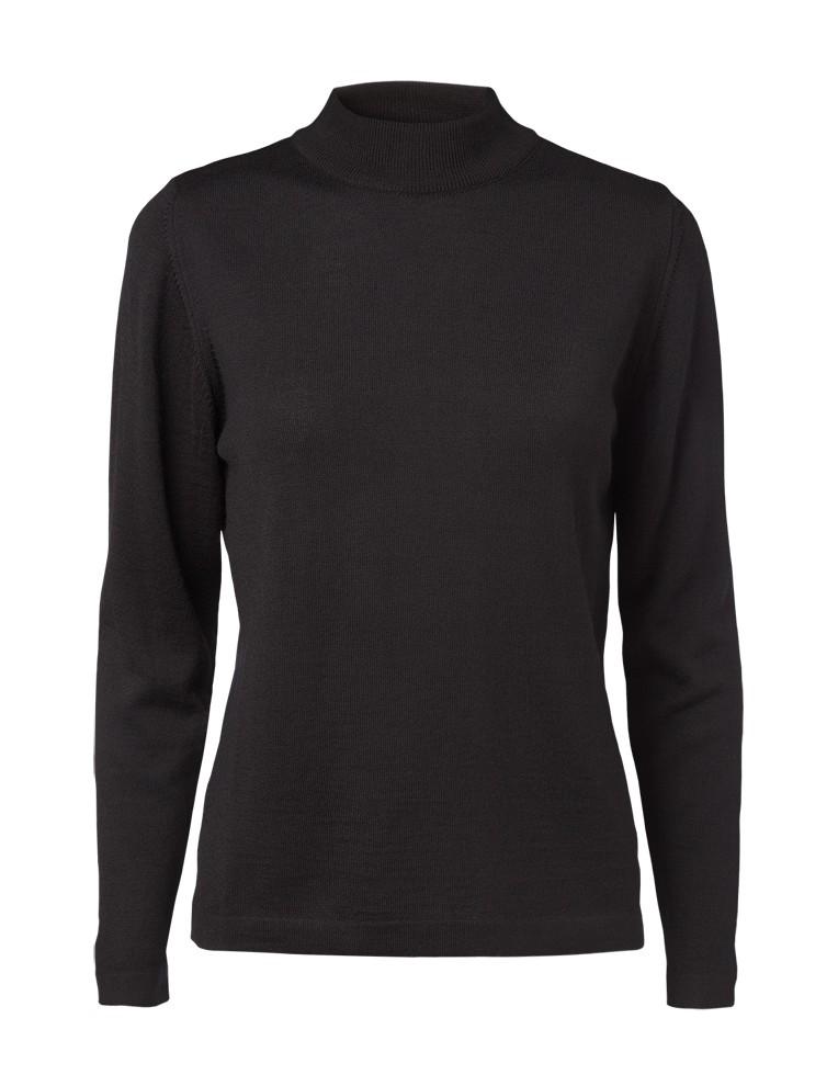 Clipper women's Turtle L.Sleeve Black
