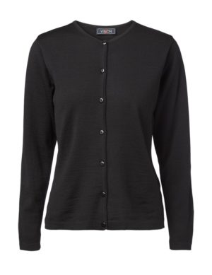 Clipper women's O cardigan Black