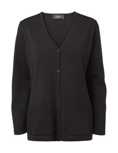 Clipper women's cardigan Black