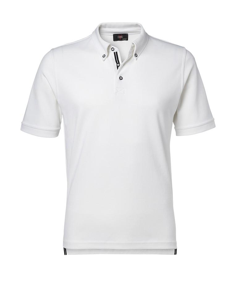 Clipper men's polo with contrast colour White
