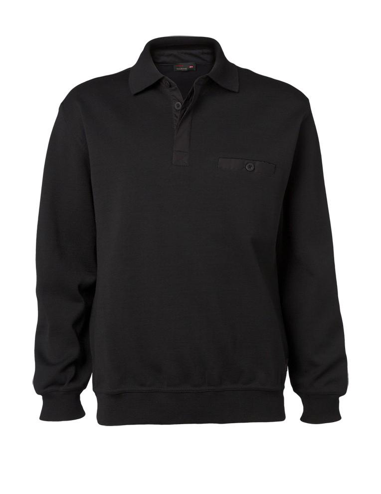 Clipper men's polo pullover Black