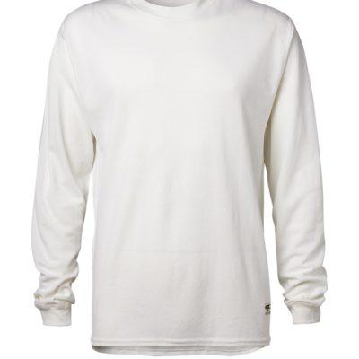 Clipper base layer o-neck LS White