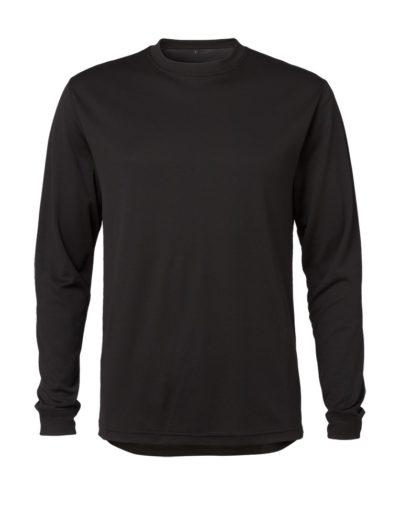 Clipper base layer o-neck LS Black