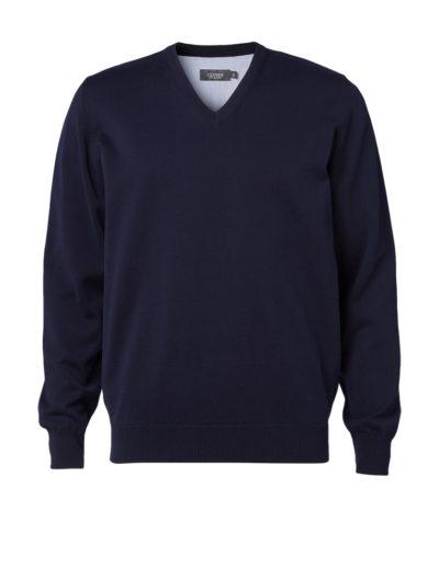 Clipper men's Cotton v-neck Navy