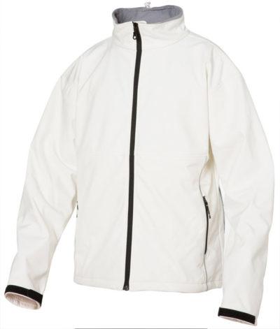 Softshell Steenwit van Clique - Categorie Jackets