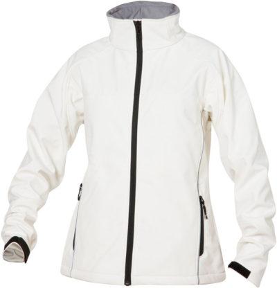 Softshell Ladies Steenwit van Clique - Categorie Jackets