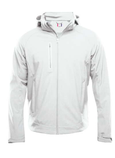 Milford Softshell Wit van Clique - Categorie Jackets