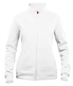 Basic cardigan ds Wit van Clique - Categorie Sweatshirts