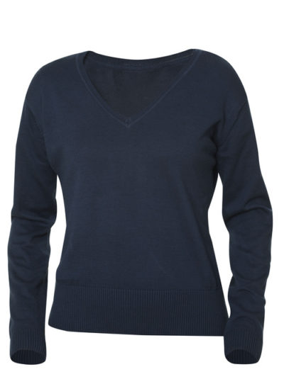 Aston Ladies Dark Navy van Clique - Categorie Knits