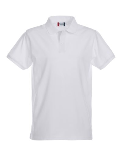 Premium Heren Polo Wit van Clique - Categorie Polo