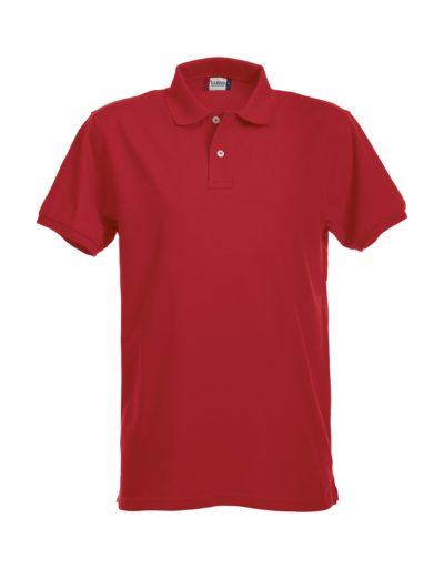 Premium Heren Polo Red van Clique - Categorie Polo