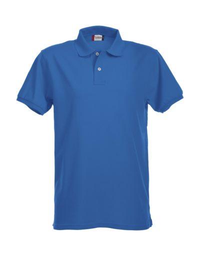 Premium Heren Polo Kobalt van Clique - Categorie Polo