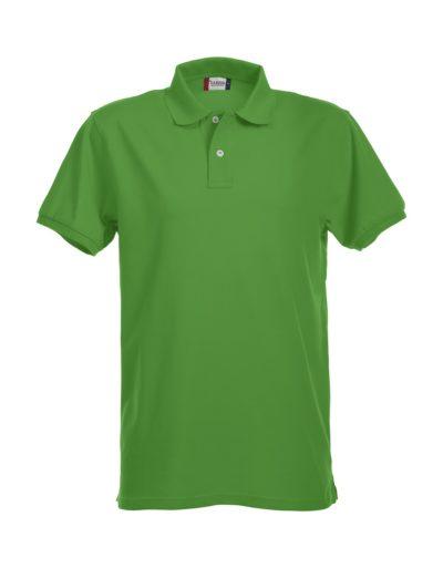 Premium Heren Polo Grasgroen van Clique - Categorie Polo