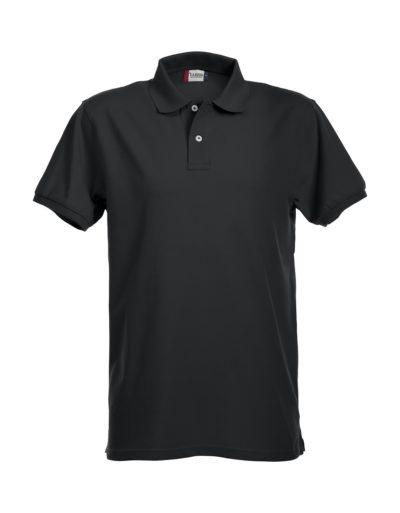 Premium Heren Polo Zwart van Clique - Categorie Polo