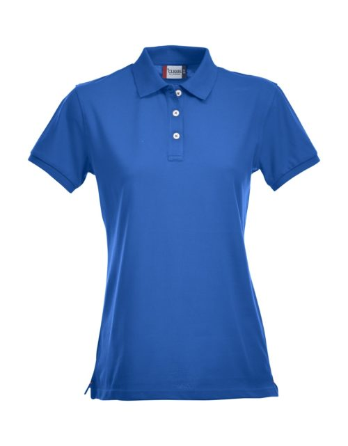 Premium Dames Polo Kobalt van Clique - Categorie Polo