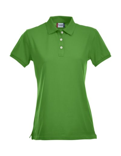 Premium Dames Polo Grasgroen van Clique - Categorie Polo