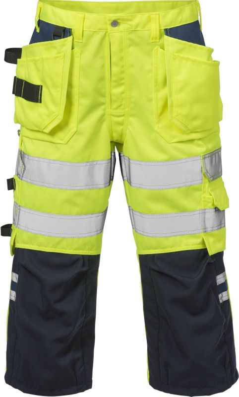 Fristads Kansas High vis 3/4 broek klasse 2 2027 PLU