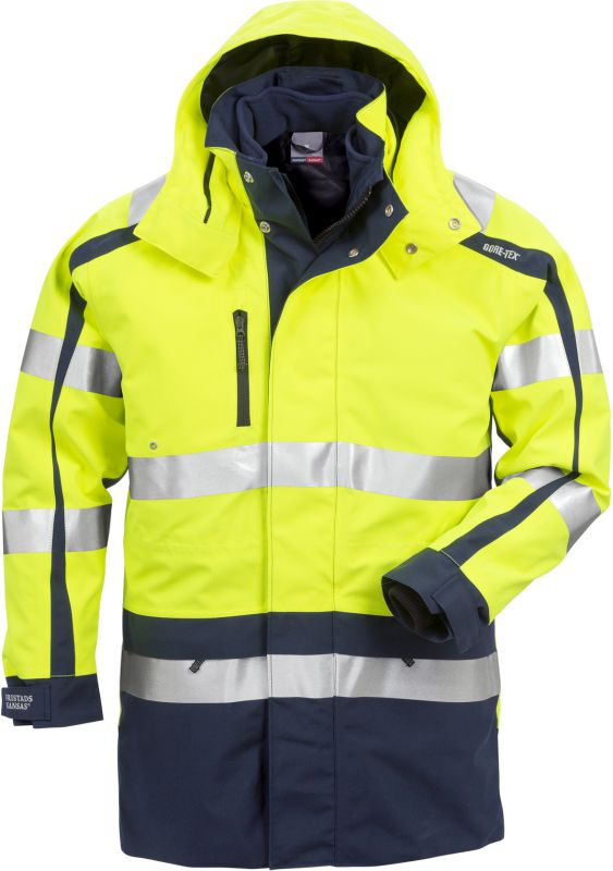 Fristads Kansas High vis GORE-TEX® 3-in-1 parka klasse 3 4834 GXB