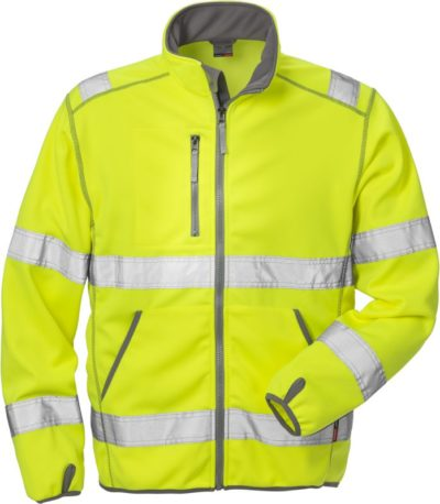 Fristads Kansas High vis softshelljack klasse 3 4840 SSL