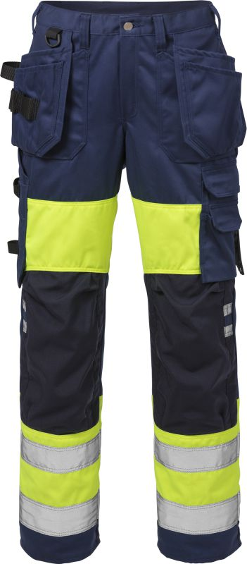 Fristads Kansas High vis werkbroek dames klasse 1 2129 PLU