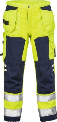 Fristads Kansas High vis softshell werkbroek klasse 2 2699 WYH