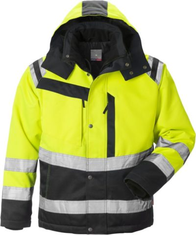 Fristads Kansas High vis winterjack dames klasse 3 4131 PP