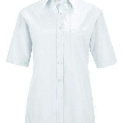 D blouse korte mouw comfort fit van Greiff