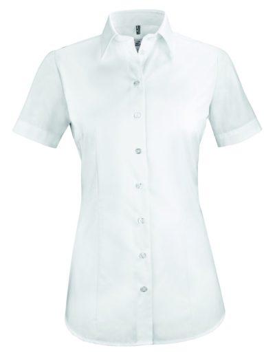 D blouse korte mouw regular fit van Greiff