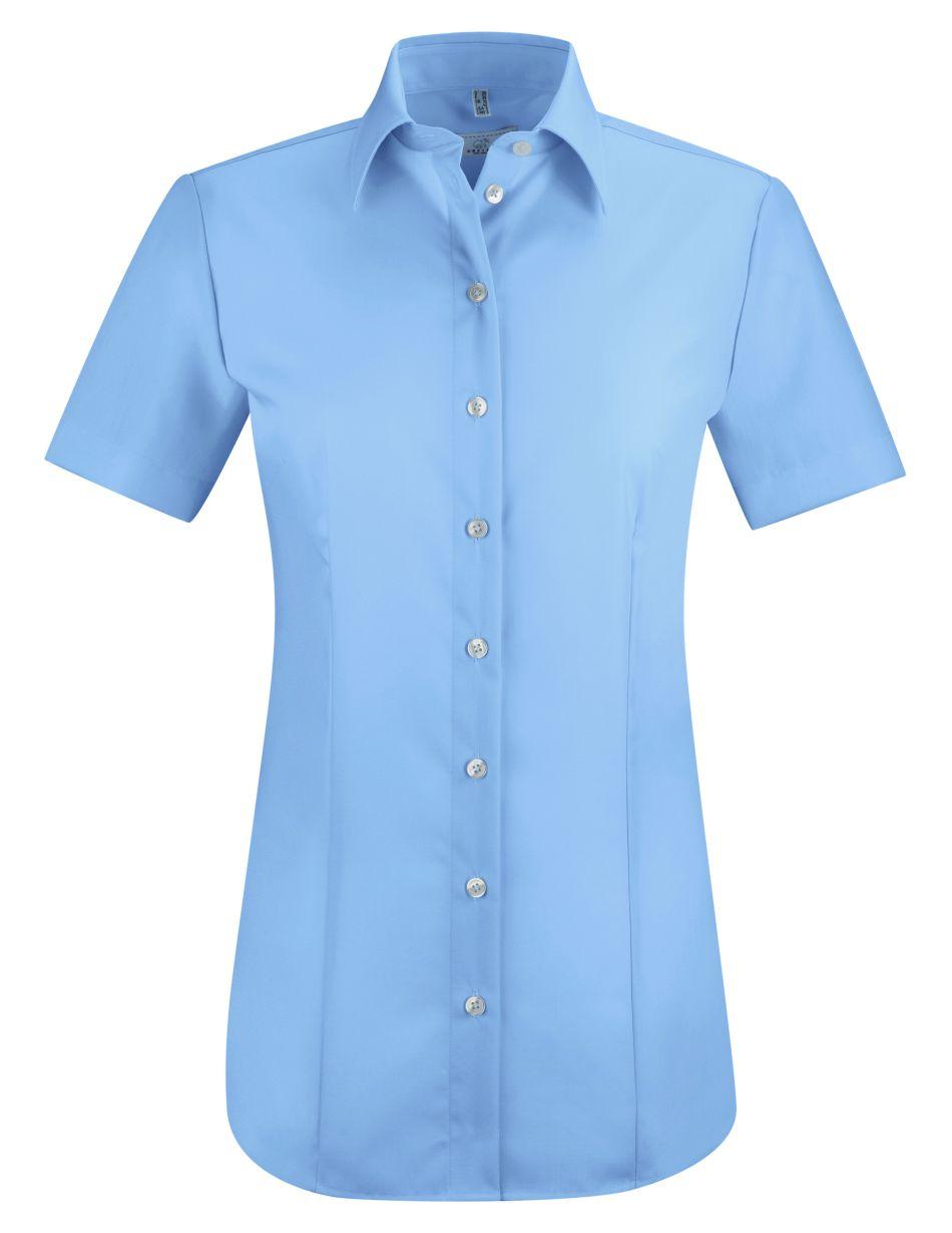 D blouse korte mouw PREMIUM regular fit van Greiff