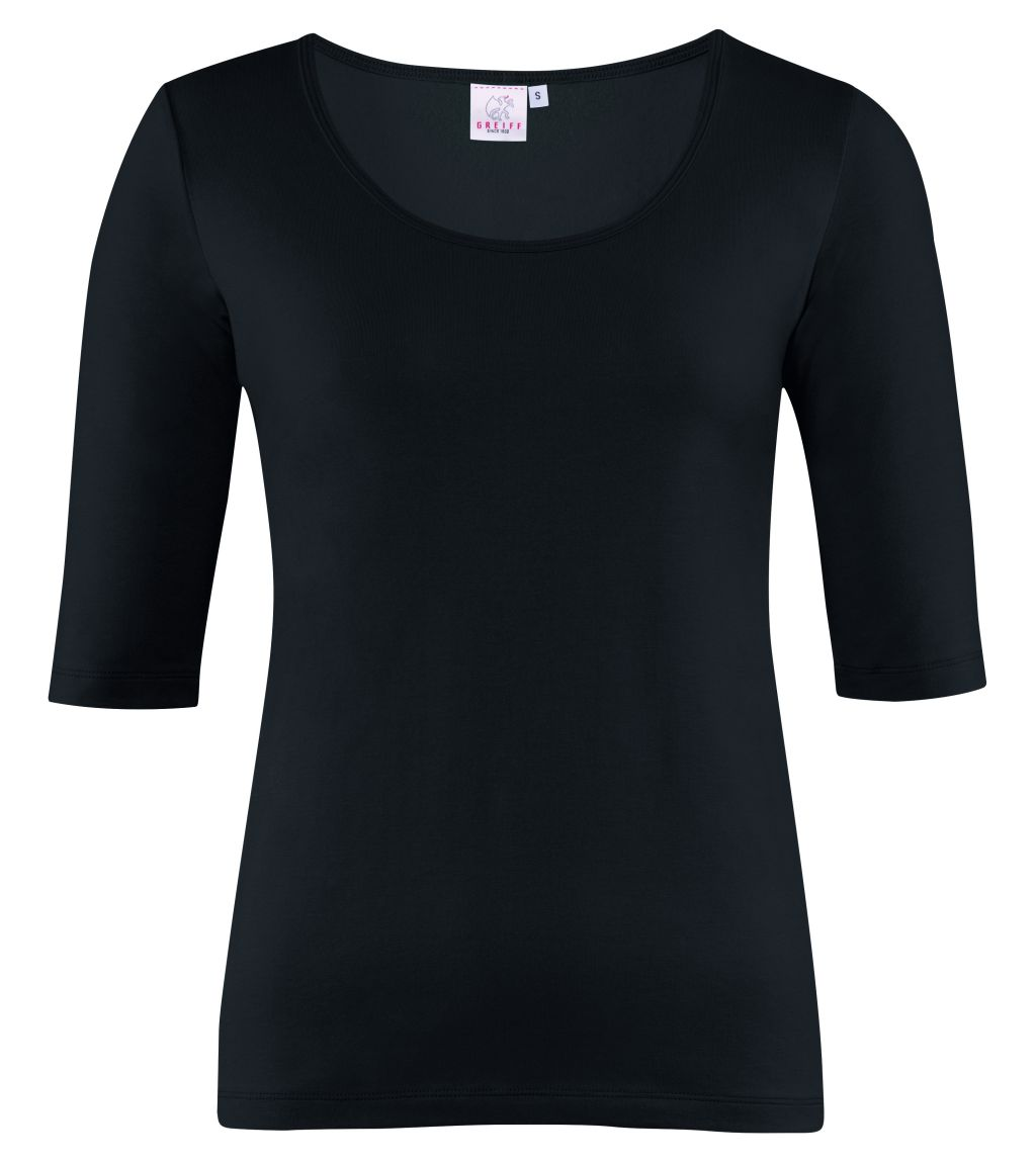 Dames shirt korte mouw regular fit van Greiff