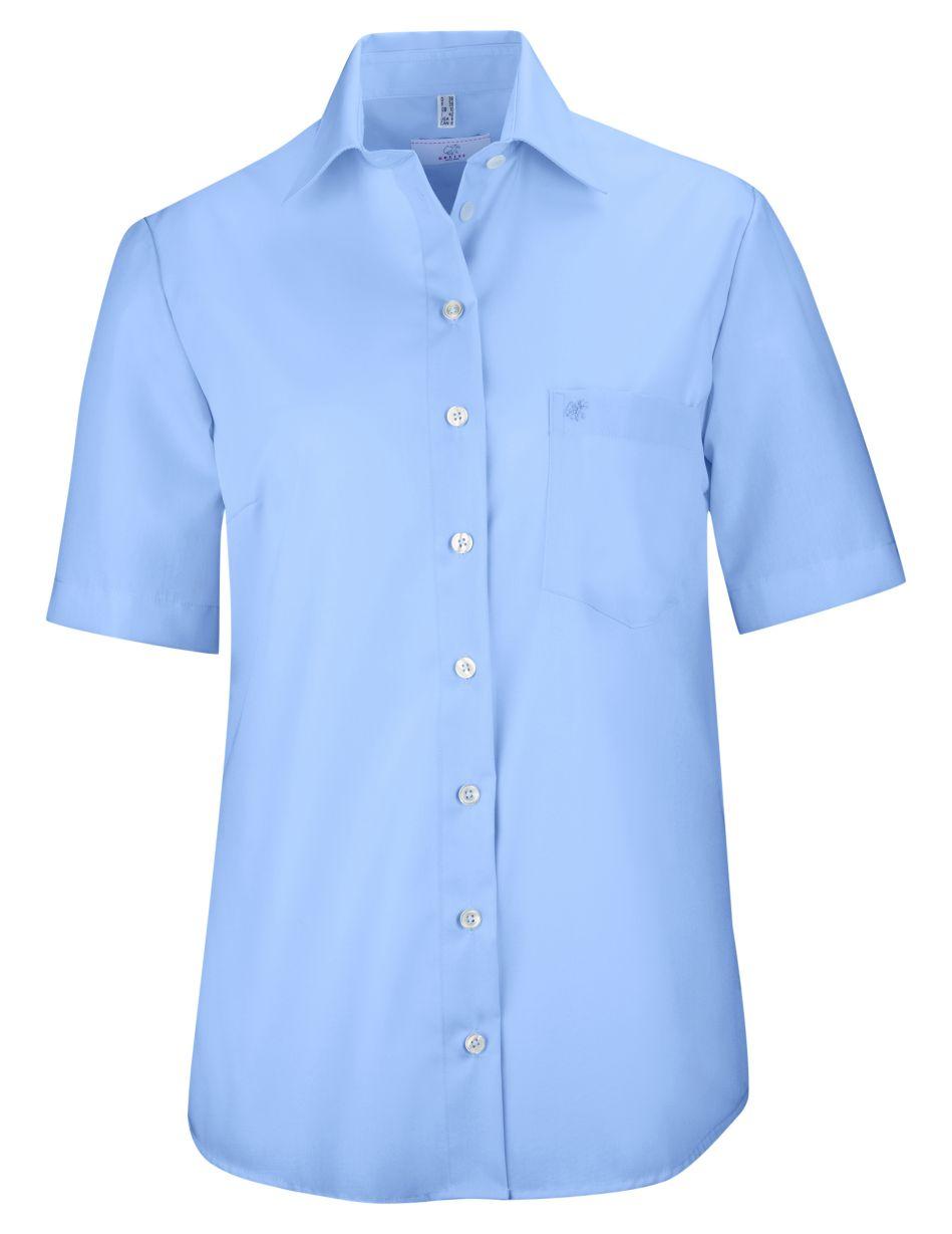 D blouse korte mouw PREMIUM comfort fit van Greiff