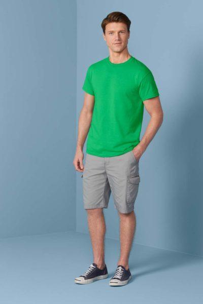 Gildan T-shirt DryBlend Korte mouw 30 Wit