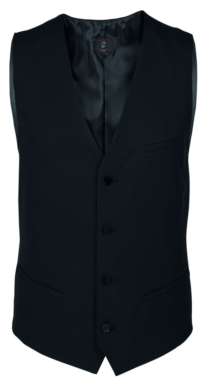 Heren gilet regular fit van Greiff