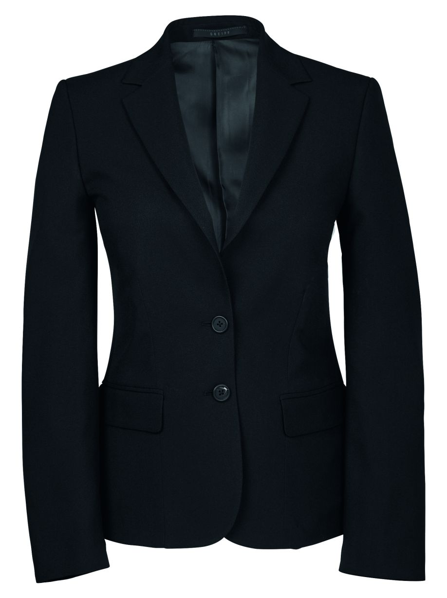 Dames blazer regular fit van Greiff
