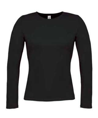 B&C Women-only LSL Black