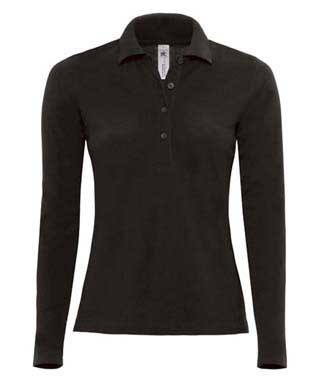B&C Safran Pure LSL women Black
