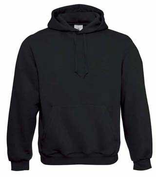 B&C Hooded Black