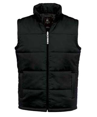 B&C Bodywarmer men Black