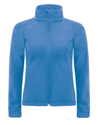 B&C Hooded softshell women Azure