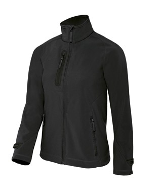 B&C X-Lite softshell women Black