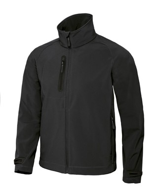 B&C X-Lite softshell men Black