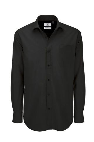 B&C Heritage LSL men Black