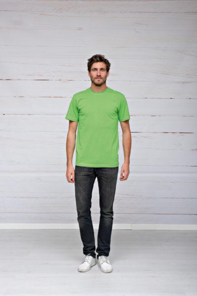 L&S T-shirt iTee Korte mouw voor Heren Wit