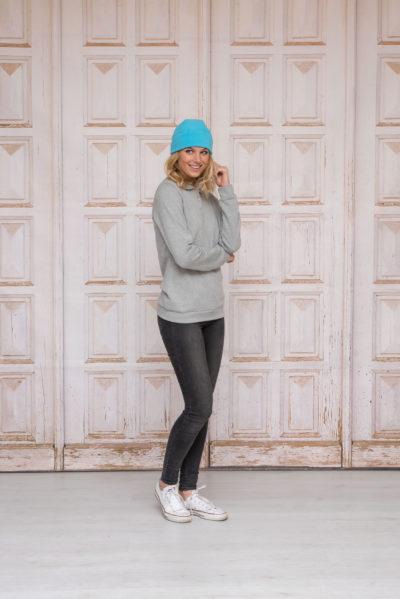 L&S Polar Fleece Muts Turquoise
