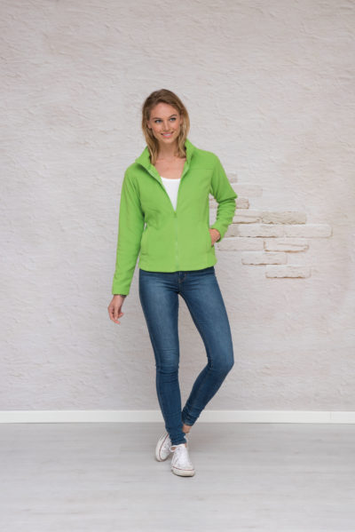 L&S Polar Fleece Cardigan voor Heren Turquoise