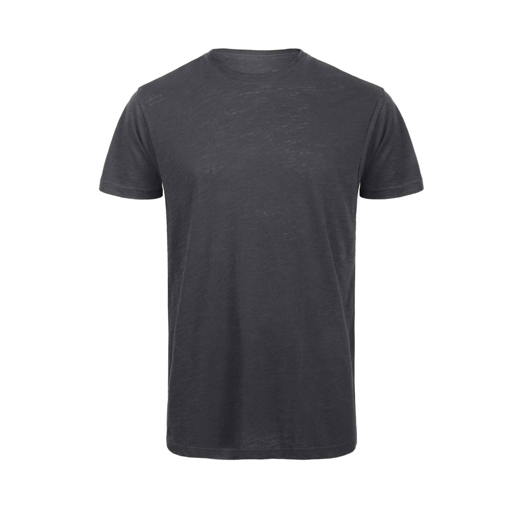 B&C TM046 Slub men Chic anthracite