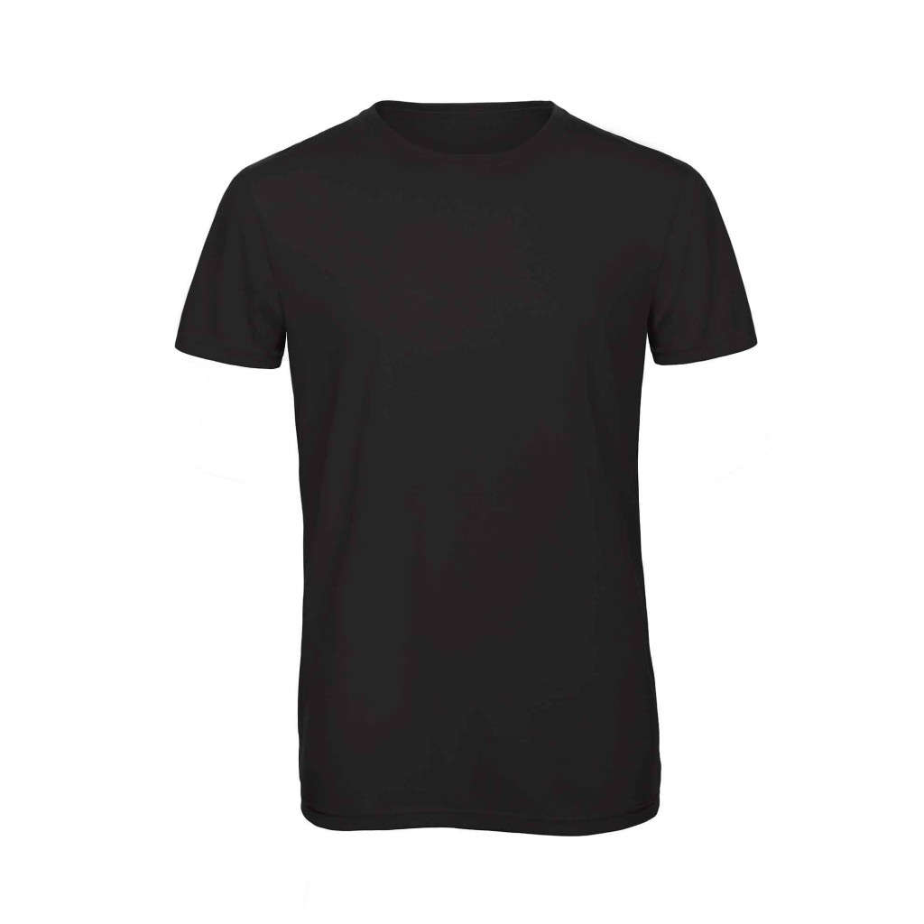 B&C TM055 Triblend men Black